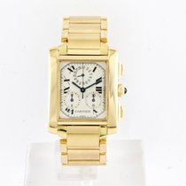 Cartier Tank Francaise Chronograph 18KT Yellow Gold