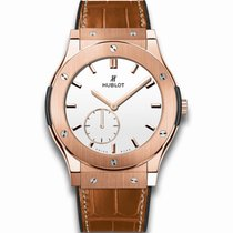 Hublot Classic Fusion 45mm · Ultra-Thin White Shiny Dial...
