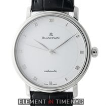 Blancpain Villeret Ultra Slim Stainless Steel 38mm White Dial