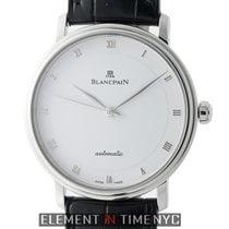 Blancpain Villeret Ultra Slim Stainless Steel 38mm White Dial