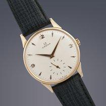 Omega Trésor large 18ct yellow gold manual watch