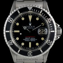 Rolex S/S O/P Red Writing Mark IV Dial Submariner Date 1680