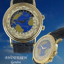 Andersen Genève Genève Worldtimer Gelbgold Christoporus Colombus