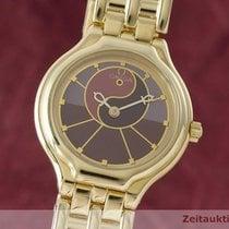 Omega Lady De Ville 18k (0,750) Gold Symbol Yin Yang Damenuhr