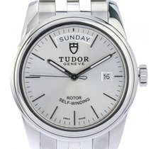 Tudor Glamour Day Date Stahl Automatik 39mm