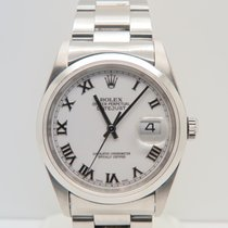 Rolex Datejust Roman Dial 36mm Steel (Complete Set)