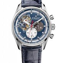 Ζενίθ (Zenith) El Primero Chronomaster 69 blue dial 5500HT