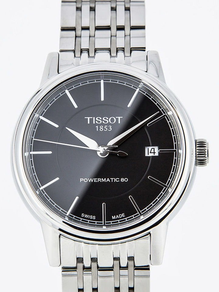 Tissot T-Classic Carson Automatic Gent Black Powermatic 80 for £490 for  sale from a Trusted Seller on Chrono24 f2d8f0577e4