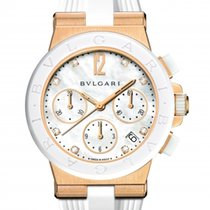 Bulgari Bvlgari Diagono Chronograph 18K Solid Rose Gold