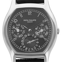 Patek Philippe Complicated Perpetual Calendar 18K Solid White...