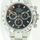 Rolex Daytona Cosmograph Steel,Black dial,Full Set