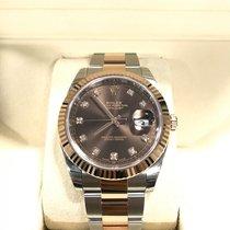 ロレックス (Rolex) Datejust 41mm 126331 Everose/Steel Chocolate...
