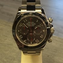 Rolex Daytona White Gold Racing Grey Dial