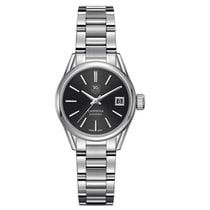TAG Heuer Carrera Automatic Black Dial Stainless Steel Ladies...
