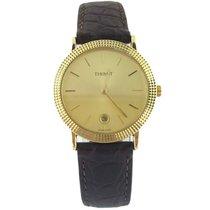天梭 (Tissot) 14K Yellow Gold Automatic Watch