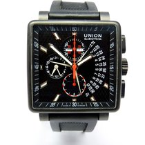 Union Glashütte Averin Chronograph Black PVD