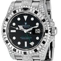 Rolex GMT-Master ll Steel Diamond Set 116710LN