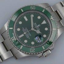 "Rolex Submariner Date116610LV Stahl ""Hulk"""