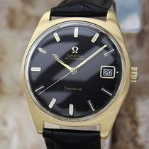 Omega Geneve Swiss Made Gold Plated Mens 1970s Vintage...