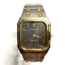Audemars Piguet Large  2 Tone Quartz Unisex Watch 18k Yellow...