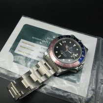 Rolex GMT MASTER 2 16710 Pepsi Red/Blue Bezel with RSC Paper