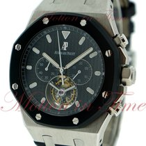 Audemars Piguet Royal Oak Chronograph, Black Dial, Black...