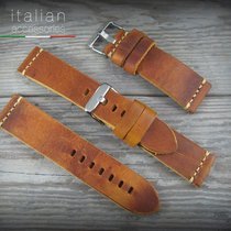 Leather watch strap CUOIO VINTAGE LARGE for Panerai 22mm...