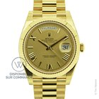 Rolex Day-Date 40 Yellow Gold New-Full Set
