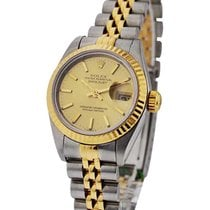 Rolex Used 79173_used_jub_champ_stk Ladys 2-Tone DATEJUST with...