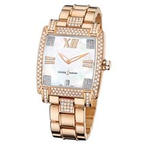 Ulysse Nardin Caprice Rose Gold Diamond Ladies Watch