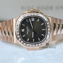 Patek Philippe 5723/1R-010 Nautilus Rose Gold Diamond Bezel