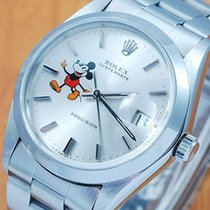 Rolex 6694 Oysterdate Precision Mickey Mouse Men's Watch