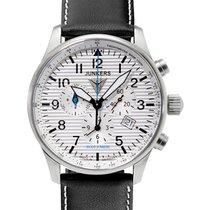 Junkers Hugo Junkers Swiss Quartz Chrono Watch Black Strap...