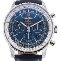 Breitling Navitimer 46 Chronograph Blue Dial Cal. B01