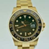 ロレックス (Rolex) GMT MASTER II YELLOW GOLD GREEN