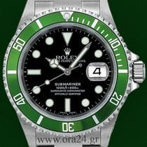 Ρολεξ (Rolex) Submariner 16610LV Green Z Series 2007 Box&P...
