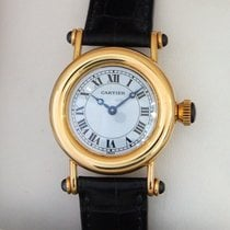 Cartier --- Ladies Diablo 18k Yellow Gold Quartz 27mm Ref. 1440