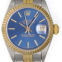 Rolex Datejust 2-Tone Ladies Steel & Gold Watch 79173