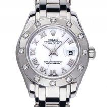 Rolex Datejust Pearlmaster Weißgold Special Edition Diamond...