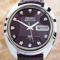 Seiko Actus Mens Vintage Day Date Automatic 76106 7600 Watchl...
