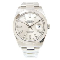 Rolex Datejust Stainless Steel Silver Automatic 126300SV_O