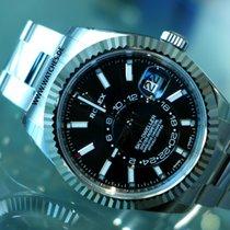 Rolex Sky Dweller Oyster Perpetual Black Dial Steel - 326934