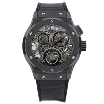 ウブロ (Hublot) Classic Fusion Tourbillon Skeleton All Black 45 mm
