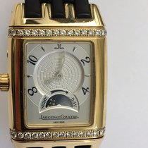 Jaeger-LeCoultre 18K Gold Lady Gran Sport Reverso Duetto