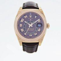 勞力士 (Rolex) 326135-STRAP CHOCOLATE ARAB SKY-DWELLER 42MM