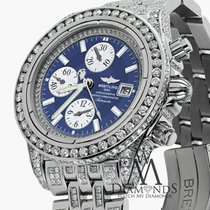 百年靈 (Breitling) Men's Evolution Watch With Custom Added...