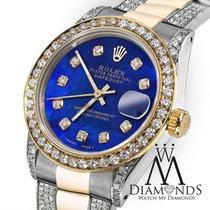Rolex Ladies Rolex Oyster Perpetual Datejust 26mm Custom Set...