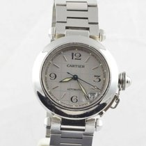 Cartier Pasha Automatik Ronde Herren Uhr 35mm Stahl/stahl 2475...