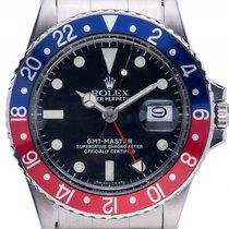 Rolex GMT Master Matte Dial Tritium rot blau Pepsi Stahl...