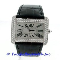 Cartier Divan White Gold Diamond WA301370 Pre-Owned